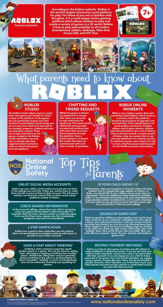 Parents Guide to Roblox | Christ Church Academy